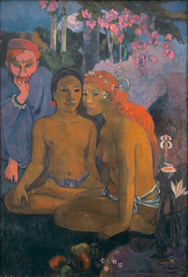 Van Gogh & Modernism pictures Wall Art as Canvas, Acrylic or Metal Print Gauguin, Contes barbares/ 1902