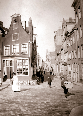 Vintage pictures Wall Art as Canvas, Acrylic or Metal Print Rotterdam, 1898
