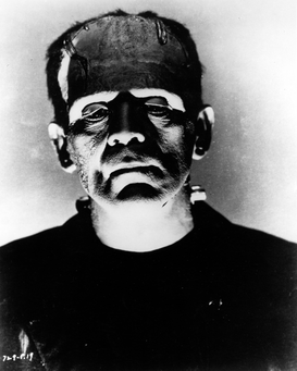 Movie stars & iconic figure pictures Wall Art as Canvas, Acrylic or Metal Print Boris Karloff in Frankenstein