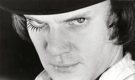Movie stars & iconic figure pictures Wall Art as Canvas, Acrylic or Metal Print CLOCKWORK ORANGE, A