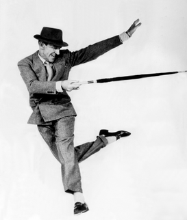 People pictures Wall Art as Canvas, Acrylic or Metal Print Filmstar Fred Astaire