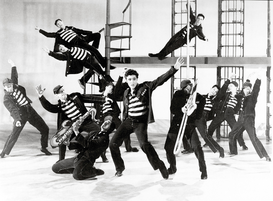 People pictures Wall Art as Canvas, Acrylic or Metal Print JAILHOUSE ROCK