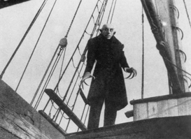 Movie stars & iconic figure pictures Wall Art as Canvas, Acrylic or Metal Print Nosferatu / F.W.Murnau