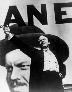 New Pictures Wall Art as Canvas, Acrylic or Metal Print Orson Welles' Citizen Kane