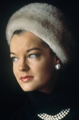 New Pictures Wall Art as Canvas, Acrylic or Metal Print ROMY SCHNEIDER  (ca. 1964)