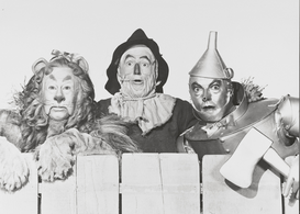 People pictures Wall Art as Canvas, Acrylic or Metal Print WIZARD OF OZ, THE