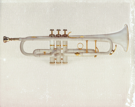 Music pictures Wall Art as Canvas, Acrylic or Metal Print Trumpet