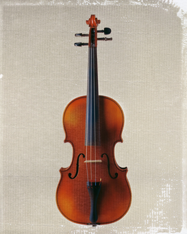 Music pictures Wall Art as Canvas, Acrylic or Metal Print Violin