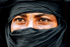 People of the world pictures Wall Art as Canvas, Acrylic or Metal Print tuareg
