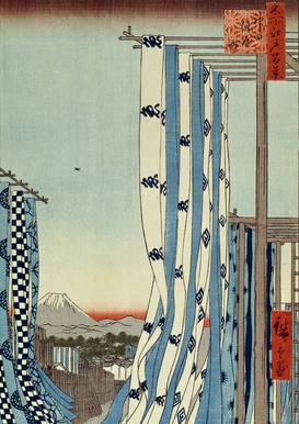 Vintage Art Pictures Wall Art as Canvas, Acrylic or Metal Print Hiroshige, Kanda