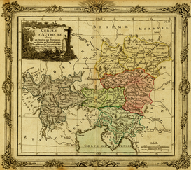 Antique Map Posters Wall Art as Canvas, Acrylic or Metal Print - Europe