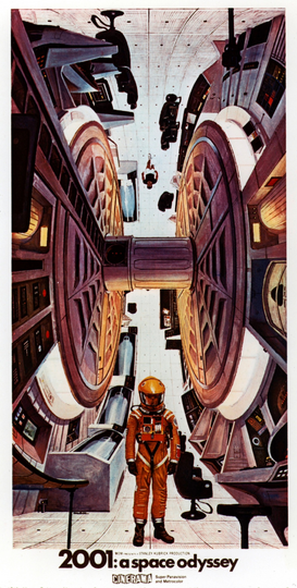 Movie Posters Wall Art as Canvas, Acrylic or Metal Print 2001: A SPACE ODYSSEY