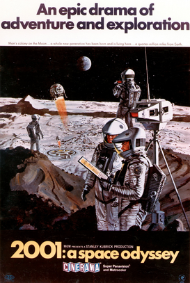 Vintage Art Pictures Wall Art as Canvas, Acrylic or Metal Print 2001: A SPACE ODYSSEY