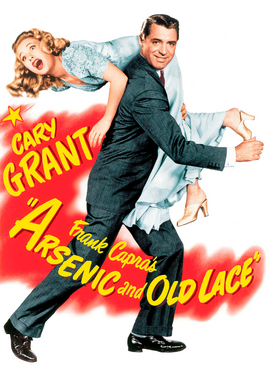 Movie Posters Wall Art as Canvas, Acrylic or Metal Print ARSENIC AND OLD LACE