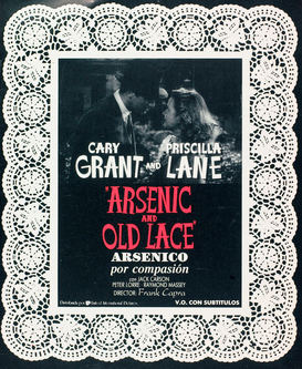 Filmposters bijv. als canvasfoto of wandfoto achter acrylglas: ARSENIC AND OLD LACE