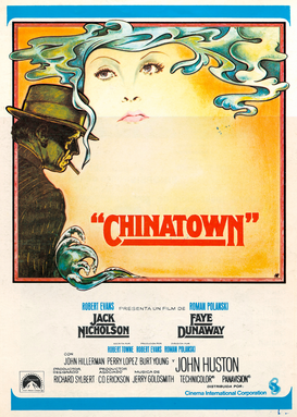 Movie Posters Wall Art as Canvas, Acrylic or Metal Print CHINATOWN