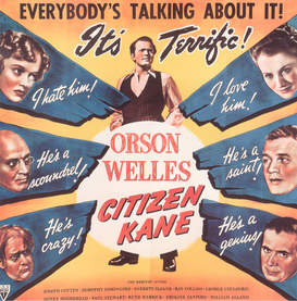 Movie Posters Wall Art as Canvas, Acrylic or Metal Print Citizen Kane / Plakat