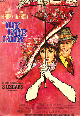 Movie Posters Wall Art as Canvas, Acrylic or Metal Print My Fair Lady