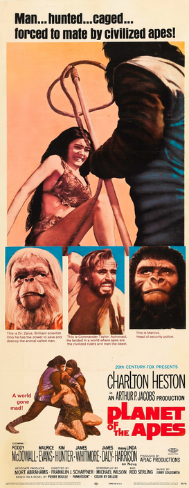 Movie Posters Wall Art as Canvas, Acrylic or Metal Print PLANET OF THE APES