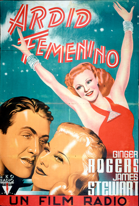 Movie Posters Wall Art as Canvas, Acrylic or Metal Print Vaivacious Lady / Filmplakat