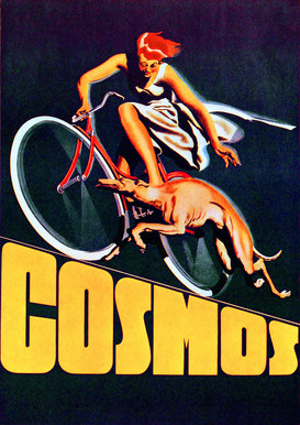 Vintage Ads Wall Art as Canvas, Acrylic or Metal Print Cosmos