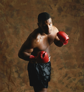 Full-contact sports pictures Wall Art as Canvas, Acrylic or Metal Print Mike Tyson