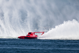 Deportes acuáticos Imágenes p.ej., como imagen en lienzo o para la pared en metacrilato: 60th Annual Seafair Festival in Seattle Hydroplanes on lake Washington Navy Blue Angels