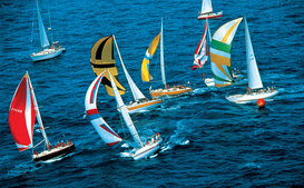 Water sports pictures Wall Art as Canvas, Acrylic or Metal Print sail boat race