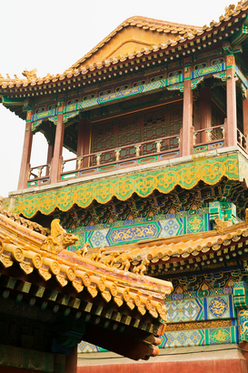 Pictures of Asia Wall Art as Canvas, Acrylic or Metal Print Forbidden city beijing