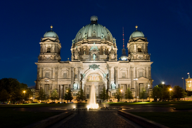 Berlin & Potsdam pictures Wall Art as Canvas, Acrylic or Metal Print Berlin cathedral