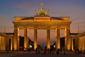 Berlin & Potsdam pictures Wall Art as Canvas, Acrylic or Metal Print germany, berlin, brandeburg gate