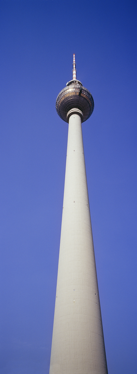 City pictures Wall Art as Canvas, Acrylic or Metal Print Television Tower  Berlin