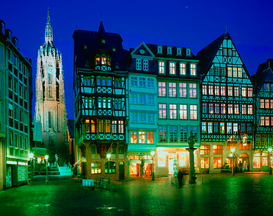 City pictures Wall Art as Canvas, Acrylic or Metal Print Frankfurt am Main - Altstadt