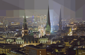 Germany pictures Wall Art as Canvas, Acrylic or Metal Print HAMBURG
