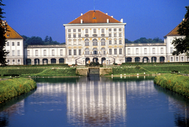 City pictures Wall Art as Canvas, Acrylic or Metal Print NYMPHENBURG CASTLE MUNICH BAVARIA GERMANY