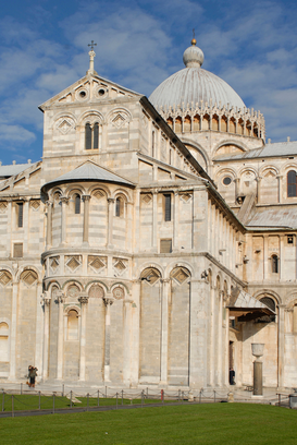 Pictures of Europe Wall Art as Canvas, Acrylic or Metal Print italy, tuscany, pisa. the cathedral                                         ...