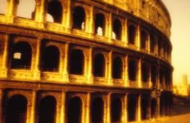 Pictures of Europe Wall Art as Canvas, Acrylic or Metal Print italy,rome, the colosseum