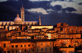City pictures Wall Art as Canvas, Acrylic or Metal Print THE CATHEDRAL OF SIENA TUSCANY ITALY