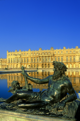 Pictures of Europe Wall Art as Canvas, Acrylic or Metal Print Versailles palace France