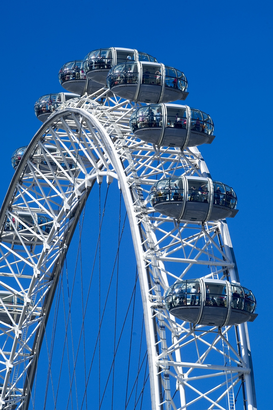 London Bilder z.B als Leinwandbild oder Wandbild hinter Acrylglas: London eye united kingdom