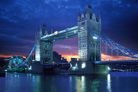 City pictures Wall Art as Canvas, Acrylic or Metal Print THE TOWER BRIDGE AT LONDON