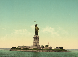 New York pictures Wall Art as Canvas, Acrylic or Metal Print Freiheitsstatue