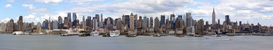 New York Foto's bijv. als canvasfoto of wandfoto achter acrylglas: New York Skyline