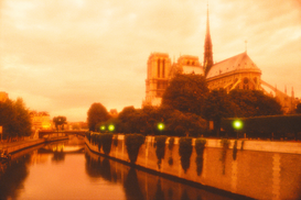 Paris pictures Wall Art as Canvas, Acrylic or Metal Print france, paris, notre dame and the seine river