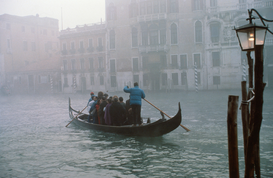 Venice pictures Wall Art as Canvas, Acrylic or Metal Print italy, veneto, venice, gondola in the fog