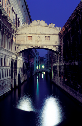 Venetië Foto's bijv. als canvasfoto of wandfoto achter acrylglas: italy,venice, the ponte dei sospiri (the bridge of sighs). prison built in 1600