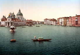 Venice pictures Wall Art as Canvas, Acrylic or Metal Print Venedig