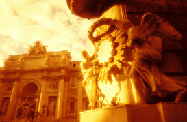 Foto: Europa - italy,rome,the trevi fountain
