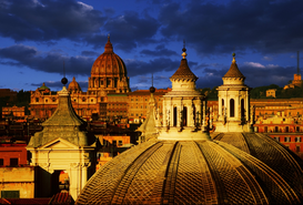 Foto: Europa - ST PETER BASILICA AT ROME ITALY
