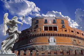 Foto: Europa - THE CASTLE SAN ANGELO AT ROME ITALY